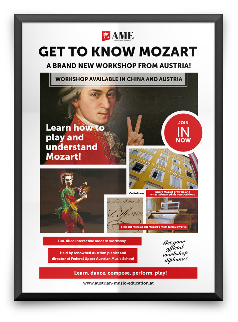 Great Composers Workshop Series | AME-Austrian Music Education