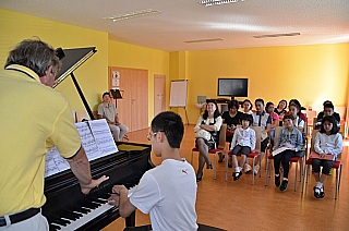 Masterclasses in Austria and China